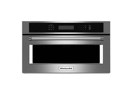 KitchenAid - KMBP107ESS - Built-In Drop Down Microwaves