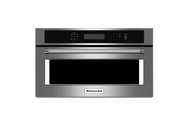 """Large image of KitchenAid 27"""" Stainless Steel Built-In Microwave Oven - KMBP107ESS"""
