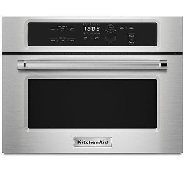 Kitchenaid 24 Quot Stainless Built In Microwave Kmbs104ess