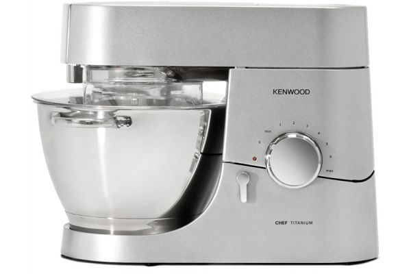 Large image of Kenwood Chef Silver 4.75 Qt. Stand Mixer - KMC011