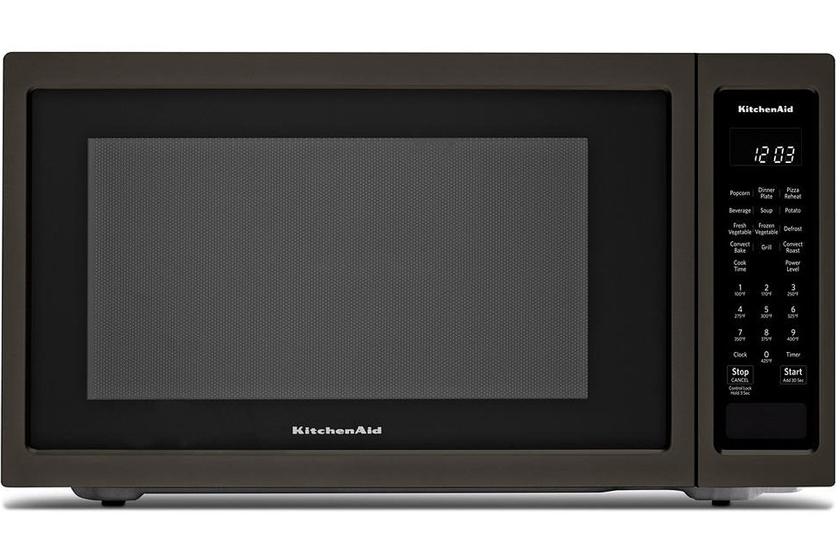 Kitchenaid Black Stainless Steel Microwave Kmcc5015gbs