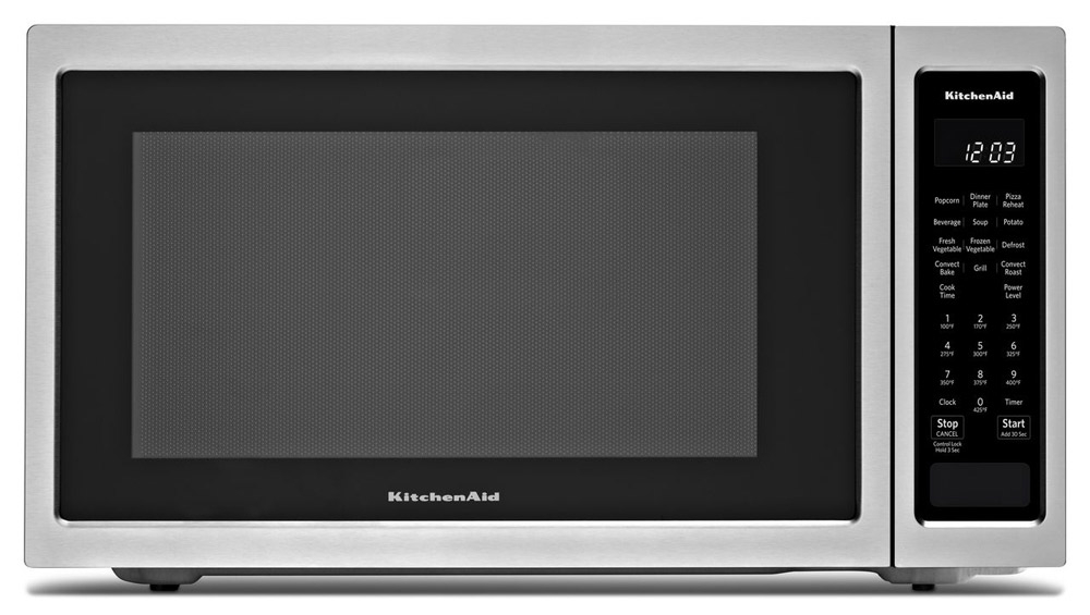 Kitchenaid Countertop Convection Microwave Oven 1000 Watt Kmcc5015gss