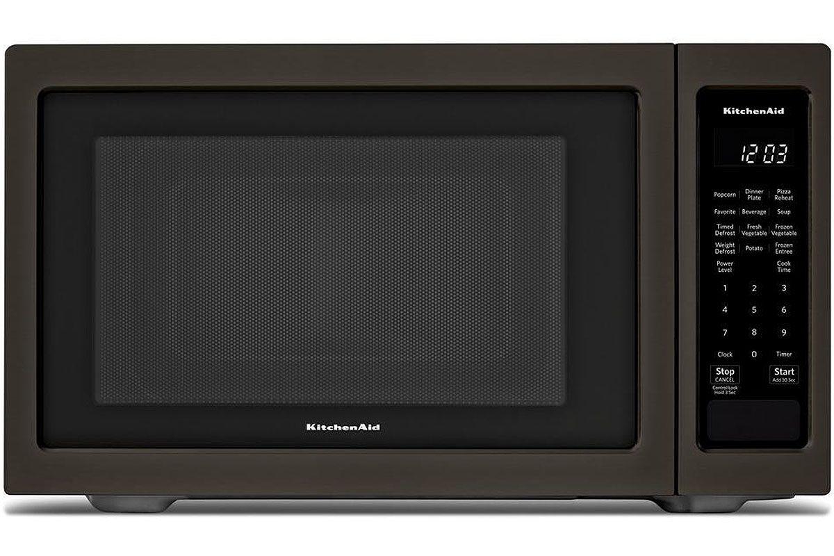 Kitchenaid Black Stainless Steel Microwave Kmcs1016gbs