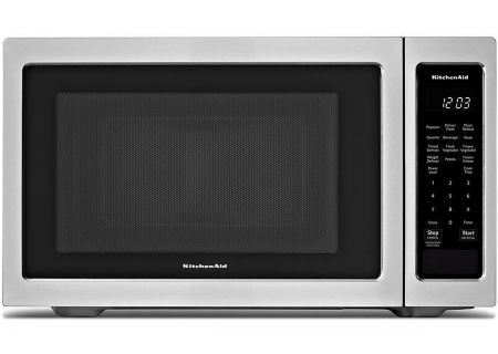 KitchenAid - KMCS1016GSS - Built-In Microwaves With Trim Kit