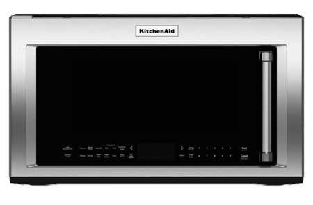 Kitchenaid Khmc1857wss kitchenaid over-the-range microwave oven - kmhc319ess