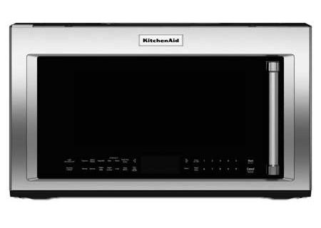 KitchenAid Over-The-Range Microwave Oven - KMHC319ESS on brinkmann oven, cuisinart oven, proctor silex oven, bosch oven, rollergrill oven, sanyo oven, montgomery ward oven, professional series oven, dometic oven, whirl pool oven, lg appliances oven, sub zero oven, black decker oven, wolf oven, delfino oven, wolfgang puck oven, 1950 gas stove and oven, small oven, painting a stove or oven, electrolux oven,