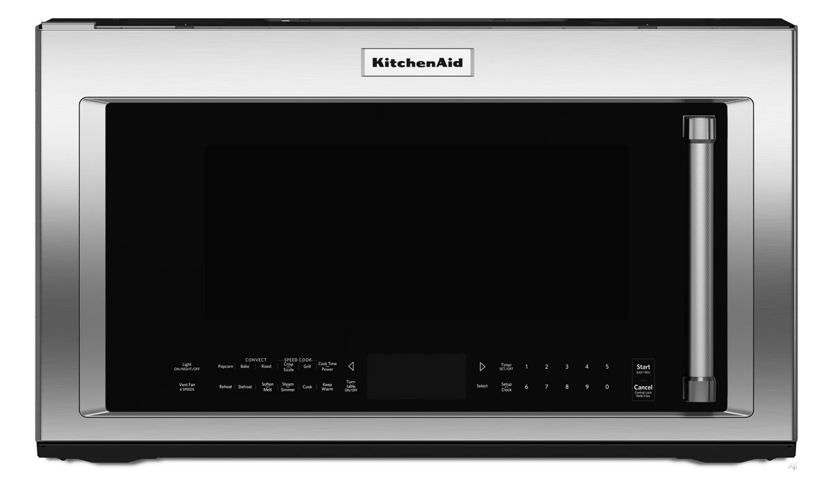 instance, kitchenaid over the range microwave most