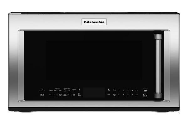 Large image of KitchenAid Stainless Steel Over-The-Range Microwave Oven - KMHP519ESS
