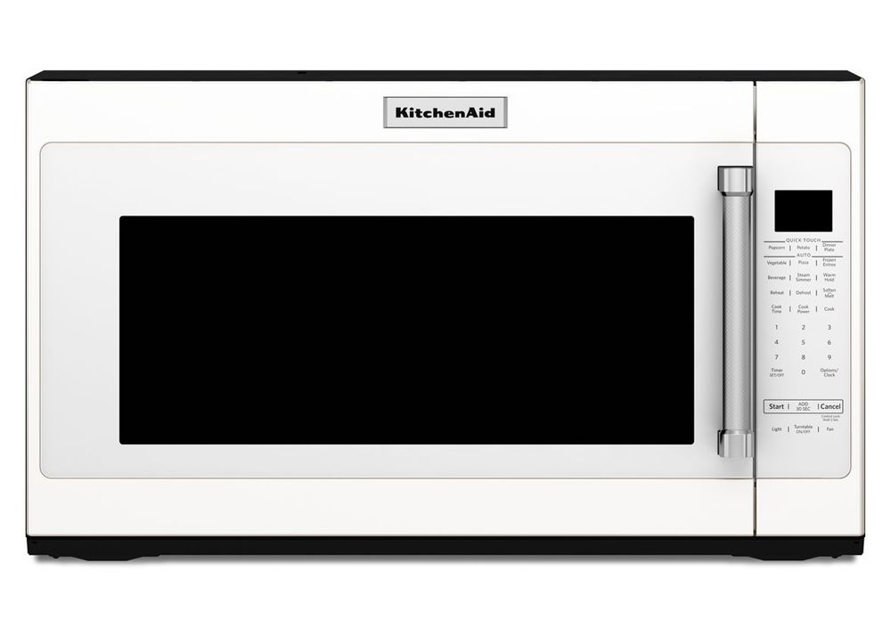 Kitchenaid Kmhs120ewh Over The Range Microwaves