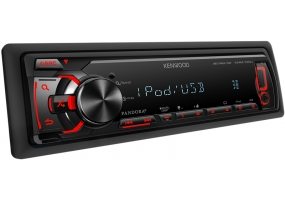 Kenwood - KMM-100U - Car Stereos - Single Din
