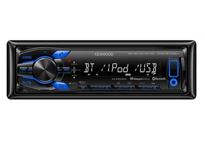 Kenwood - KMM-BT308U - Car Stereos - Single DIN