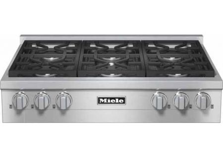 "Miele 36"" Gas Stainless Steel Rangetop  - KMR1134G"