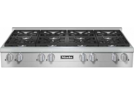 "Miele 48"" Gas Stainless Steel Rangetop  - KMR1354G"