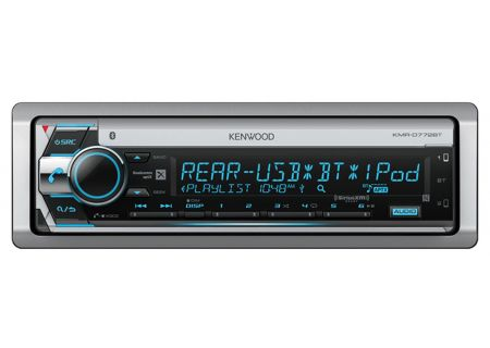 Kenwood Marine CD Receiver With Built-In Bluetooth - KMR-D772BT
