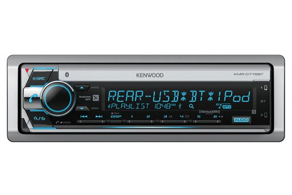 Large image of Kenwood Marine CD Receiver With Built-In Bluetooth - KMR-D772BT