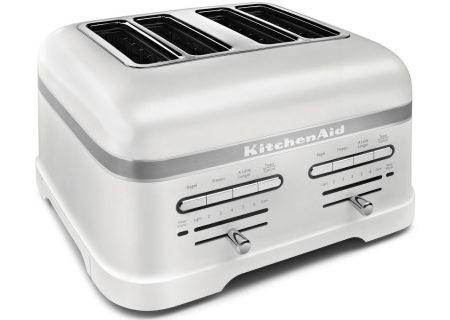 KitchenAid Pro Line White 4-Slice Toaster - KMT4203FP