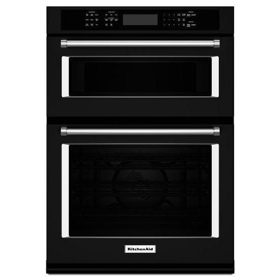 Kitchenaid 30 Black Combination Oven Koce500ebl