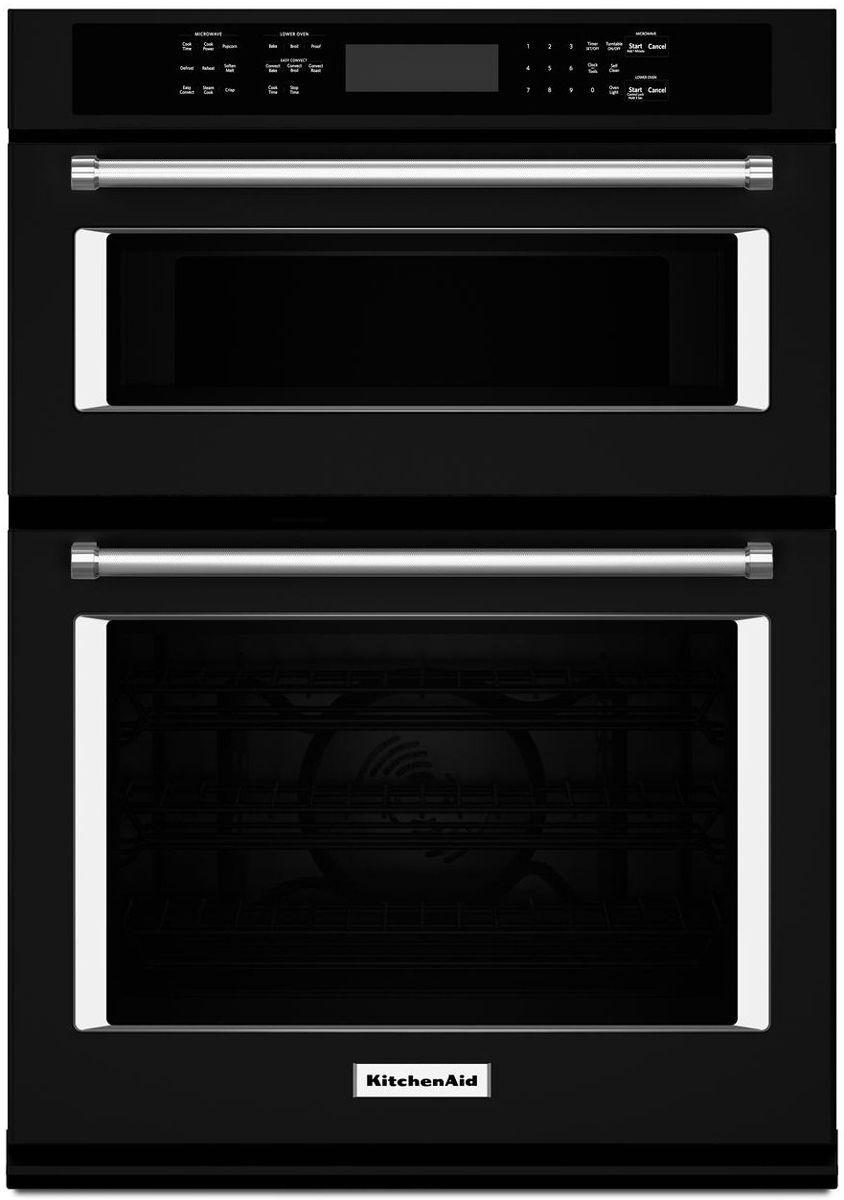 Kitchenaid 27 Black Combination Oven Koce507ebl