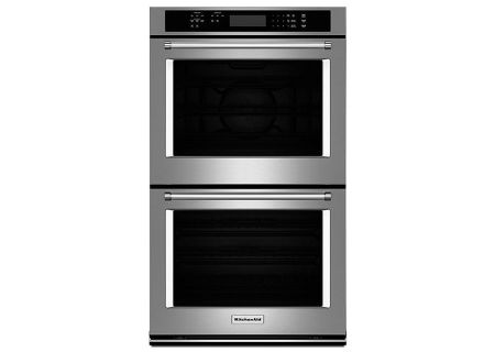 KitchenAid - KODE300ESS - Double Wall Ovens