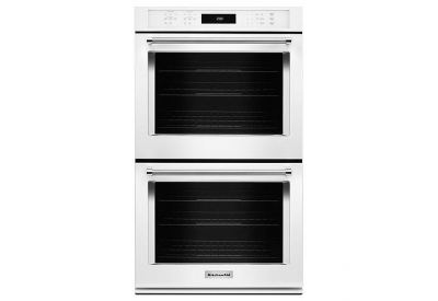 KitchenAid - KODE500EWH - Double Wall Ovens