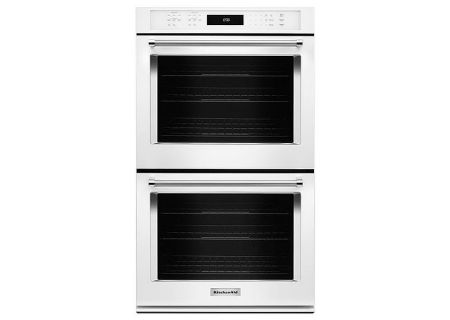 KitchenAid - KODE500EWH - Double Wall Ovens