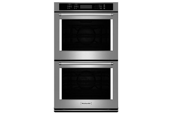 Kitchenaid 27 Double Wall Oven Kode507ess Abt