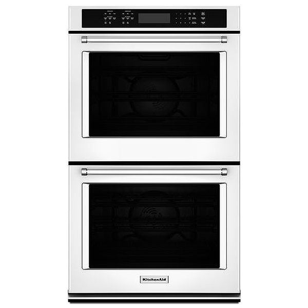 Kitchenaid 27 Quot White Double Wall Oven Kode507ewh