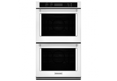 KitchenAid - KODE507EWH - Double Wall Ovens