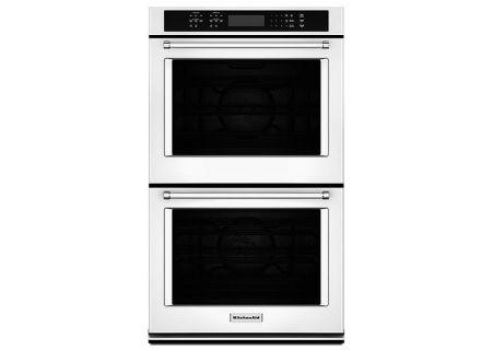 KitchenAid - KODE507EWH - Double Wall Ovens
