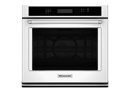 KitchenAid - KOSE507EWH - Single Wall Ovens