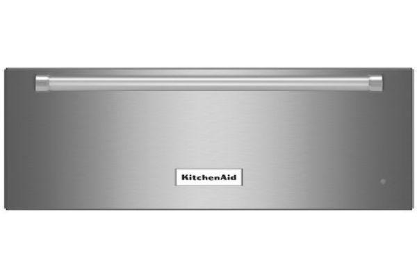 "Large image of KitchenAid 27"" Stainless Steel Slow Cook Warming Drawer - KOWT107ESS"