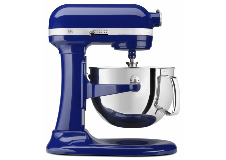 Kitchenaid 600 6 Quart Cobalt Bowl Lift Mixer Kp26m1xbu