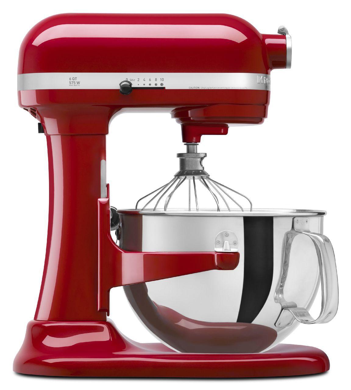 KitchenAid 600 Series Red Stand Mixer