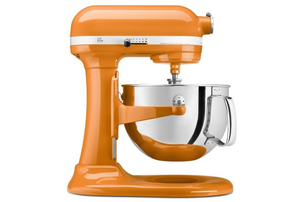 KitchenAid Professional 600 Series 6 Quart Tangerine Bowl-Lift Stand Mixer - KP26M1XTG