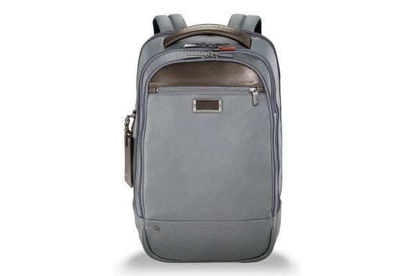 Large image of Briggs & Riley Grey @Work Medium Backpack - KP422-10