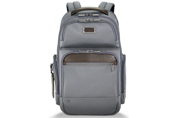Large image of Briggs & Riley Grey @Work Medium Cargo Backpack - KP426-10