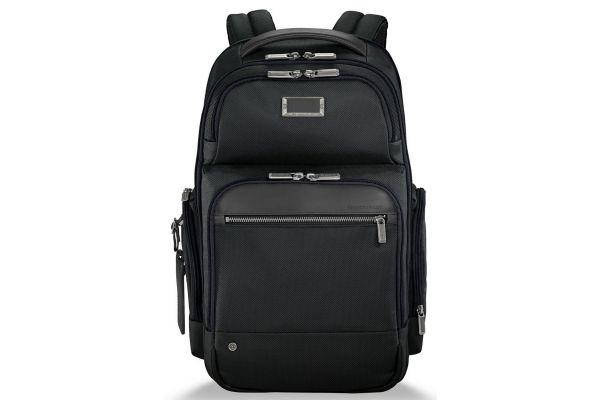 Large image of Briggs & Riley Black @Work Medium Cargo Backpack - KP426-4