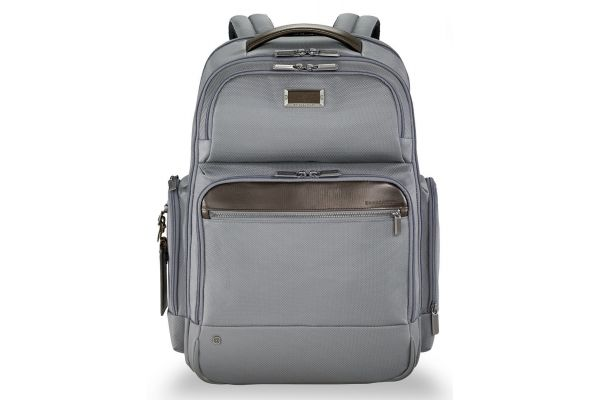 Large image of Briggs & Riley Grey @Work Large Cargo Backpack - KP436-10
