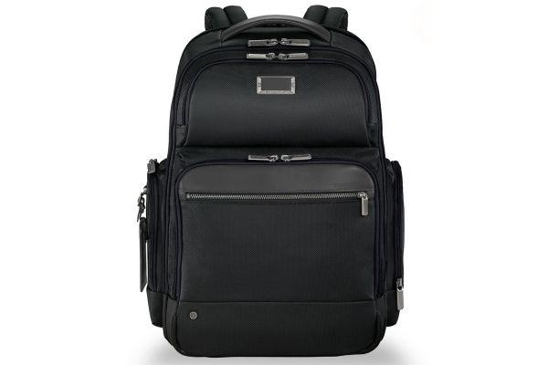 Large image of Briggs & Riley Black @Work Large Cargo Backpack - KP436-4