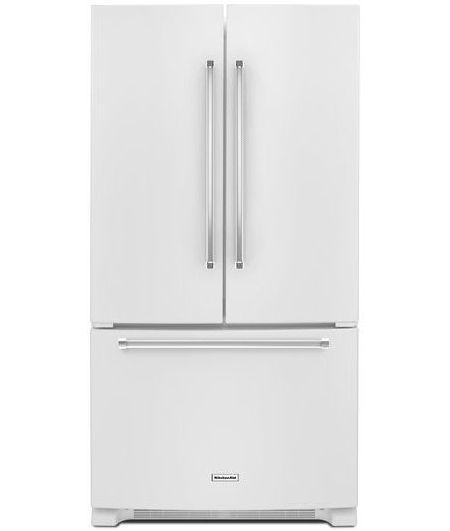 Kitchenaid White French Door Refrigerator Krfc300ewh
