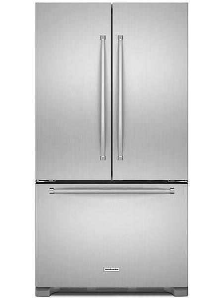 Kitchenaid Stainless Steel Counter Depth French Door Refrigerator Krfc302ess