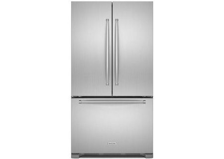Kitchenaid Stainless French Door Refrigerator Krfc302ess