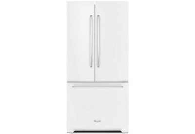 KitchenAid - KRFF302EWH - French Door Refrigerators