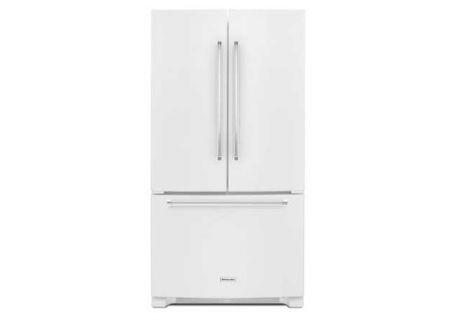 KitchenAid - KRFF305EWH - French Door Refrigerators