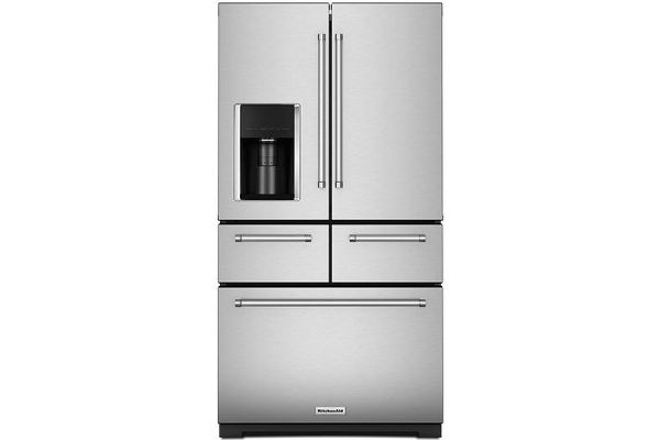 KitchenAid Multi-Door Stainless Steel French Door Refrigerator - KRMF706ESS