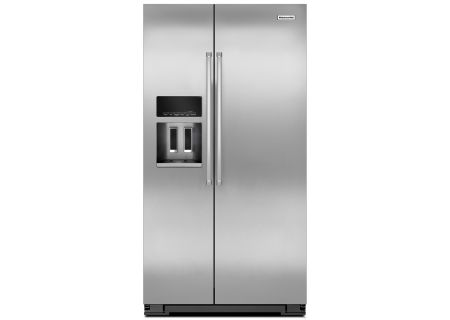 KitchenAid - KRSC500ESS - Side-by-Side Refrigerators