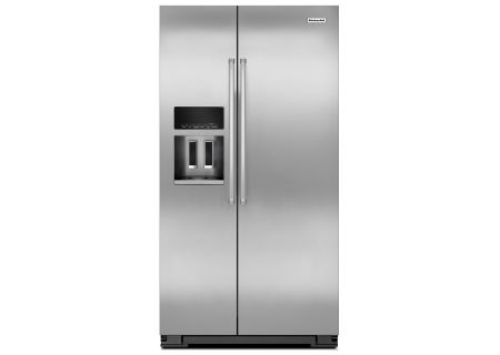 KitchenAid - KRSF505ESS - Side-by-Side Refrigerators