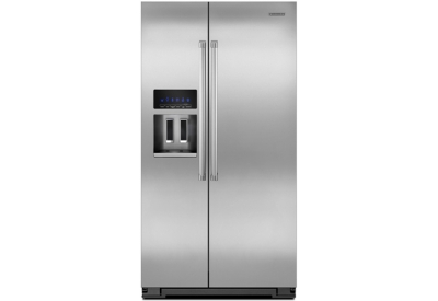 KitchenAid - KSC24C8EYP - Side-by-Side Refrigerators