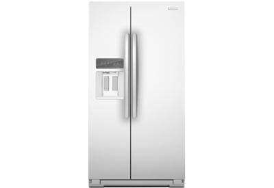 kitchenaid white side by side refrigerator ksc24c8eyw
