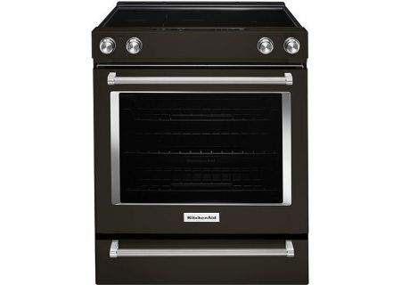 KitchenAid - KSEG700EBS - Slide-In Electric Ranges